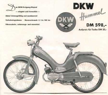 dkw hummel standard zweirad union mopeds. Black Bedroom Furniture Sets. Home Design Ideas